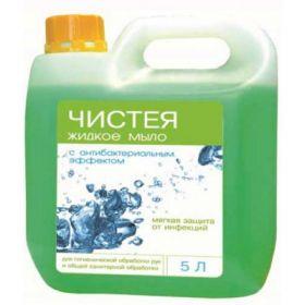 Чистея / дезинфицирующее жидкое мыло  / 5 л